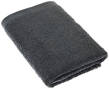 Pure de paseo LASA toallas de mano de bueno y económico, algodón, gris,