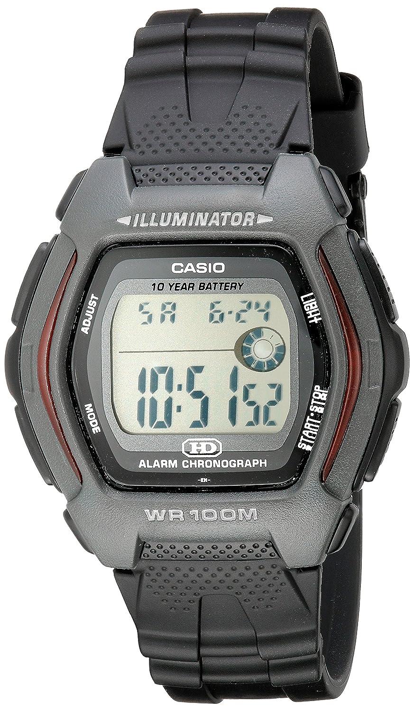 Casio Mens HDD600-1AV 10-Year-Battery Sport Watch