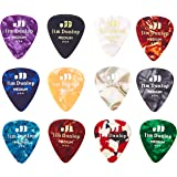 Planet Waves Assorted Pearl Celluloid Guitar Picks 10 pack Heavy