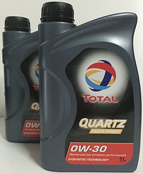 Aceite lubricante coche Total Ineo First 0W-30 1 Ltr (2 L=2x1