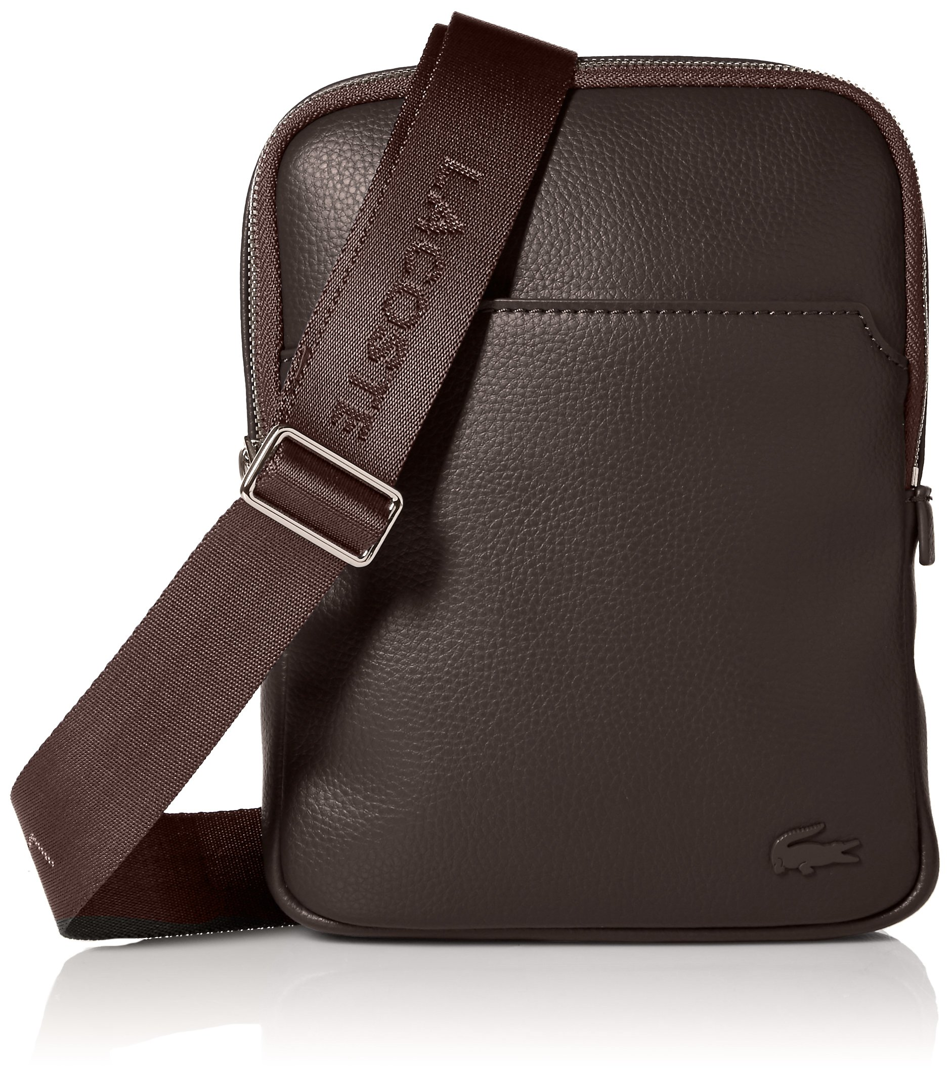 Lacoste Men's Gael Medium Flat Crossover Bag