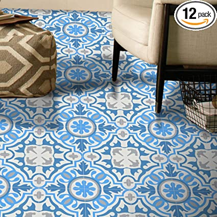 Moroccan Mosaic Tile House Ctp05 01 Baha Handmade Cement Tile 8 X8 Sky White Gray Dark Blue