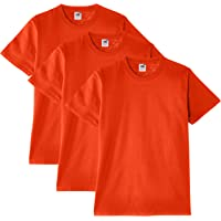 Fruit of the Loom - Heavy Cotton Tee Shirt 3 Pack, T-Shirt da Uomo
