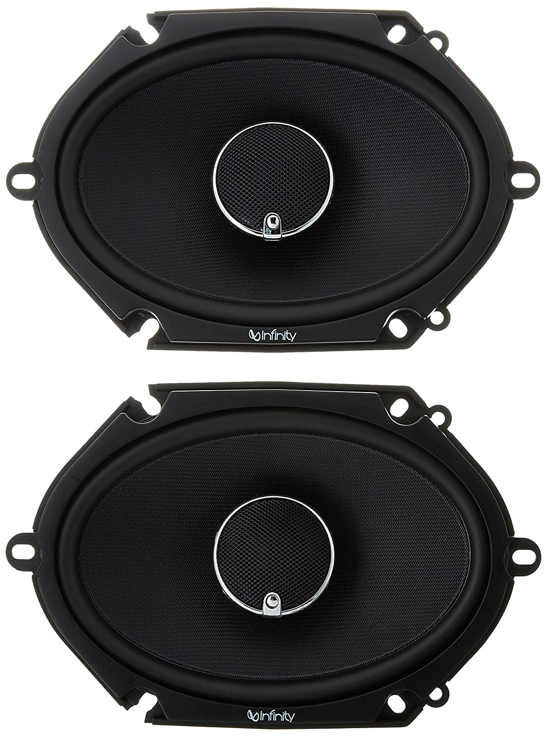 Amazon com infinity kappa 682 11cf peak power handling 300w 6x8 5x7 two way car audio cell phones accessories