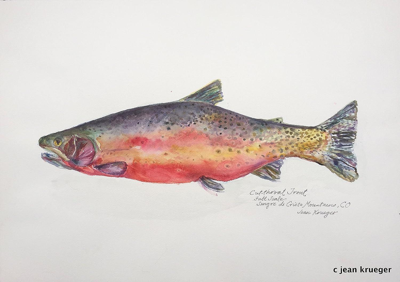 Amazon.com: Original Watercolor Painting, \