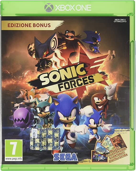 Db-Line Sonic Forces: Bonus Edition, Xbox One Xbox One Italiano vídeo - Juego (Xbox One, Xbox One, Plataforma, E10 + (Everyone 10 +)): SEGA: Amazon.es: Videojuegos