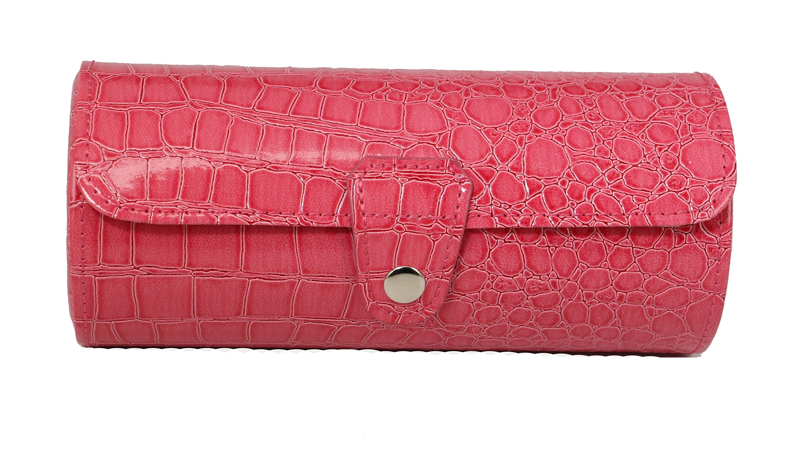 Top Quality Travel size Bracelet Organizer / Bangle Display Case Organizer (Luster pink)