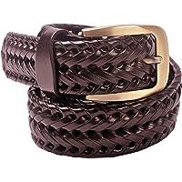 VOGARD Genuine Leather Men's Belt (Brown, Free Size)