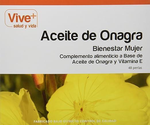 Vive+ Aceite de Onagra - 48 Cápsulas: Amazon.es: Salud y cuidado ...
