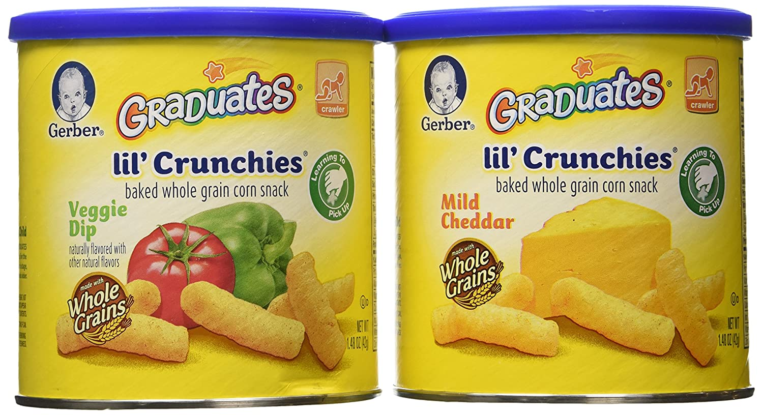 Gerber Graduates Lil Crunchies Net Weight 8.88-Ounce 6 Count Lake Hut Inc.
