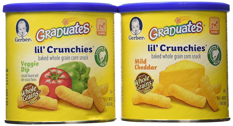 Gerber Lil/' Crunchies Mild Cheddar 2 Pack