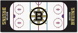 FANMATS NHL Boston Bruins Nylon Face Football Field Runner