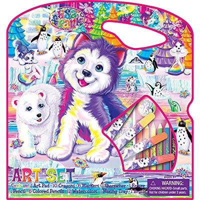 Bendon Artistic Studios Lisa Frank Large Art Case: Toys & Games