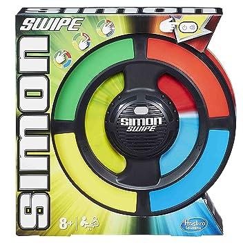 ede842f5113d M.B Juegos Hasbro Gaming - Simon Swipe, Juego de Mesa (A8766): Amazon.es:  Juguetes y juegos