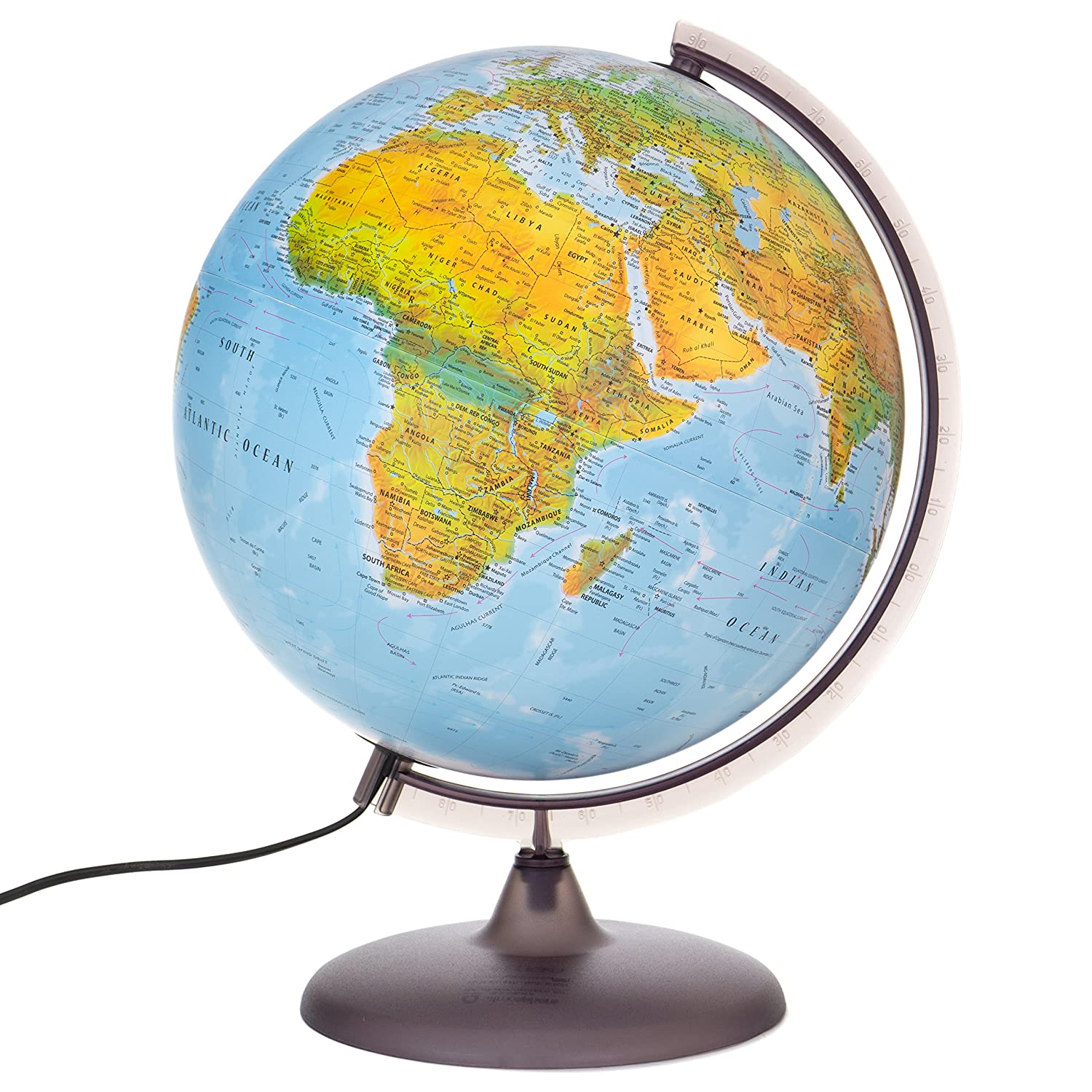 Interactive kids globes interactive world globes for kids buy globes toys at amazoncouk interactive globe ks1 gumiabroncs Gallery