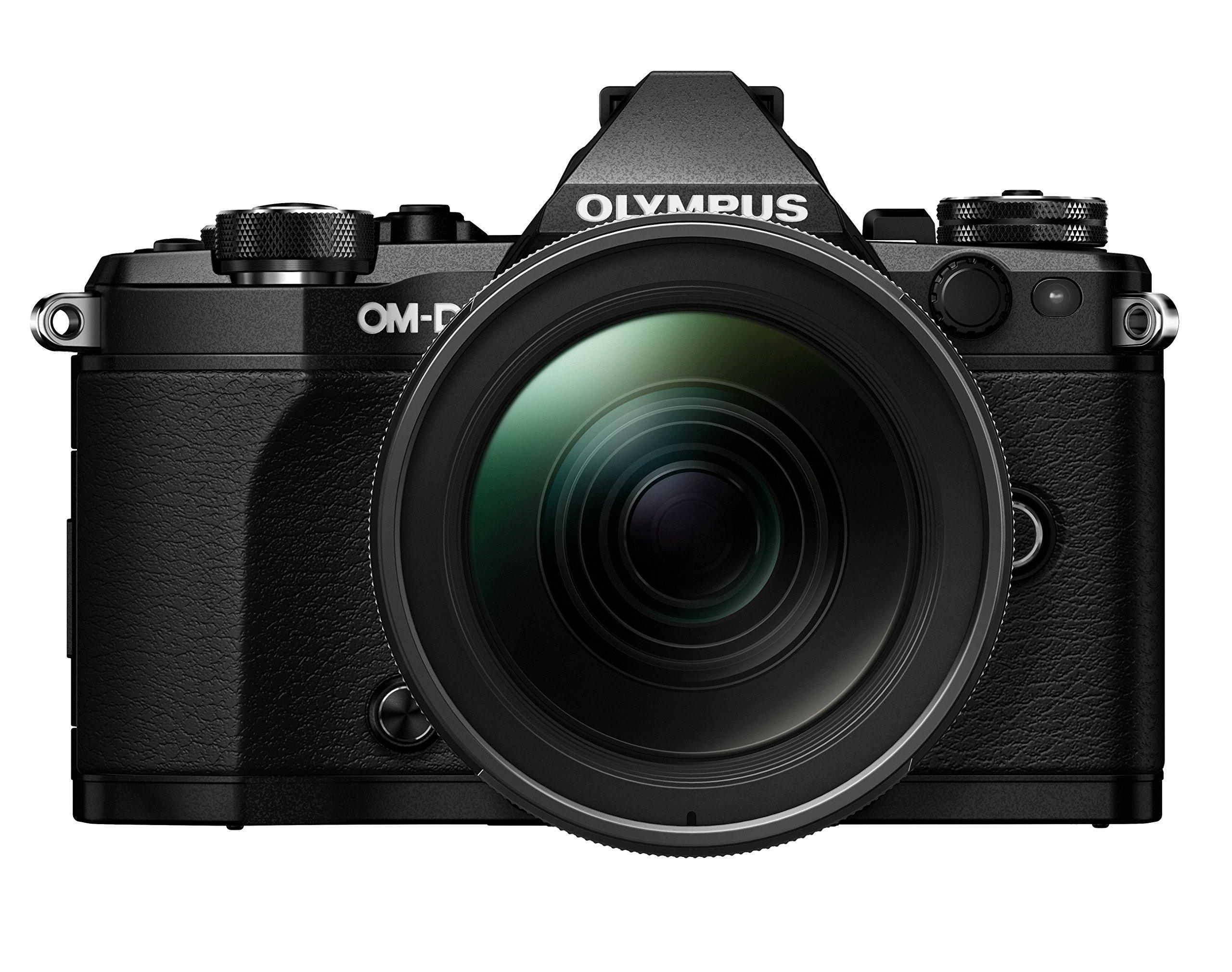 Olympus E-M5II 1240 Kit Fotocamera Professionale OM-D EM5 Mark II con Obiettivo M.Zuiko Digital ED 12-40mm, 1:2.8 Pro, Nero product image