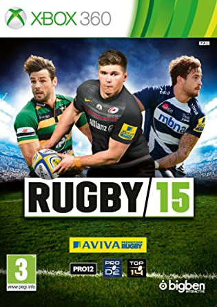 Amazon Com Rugby 15 Xbox 360 Video Games