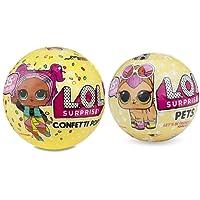 Giochi Preziosi - LOL Surprise Serie 3 Confetti Pop e Il Suo Cucciolo LOL Pets Surprise Serie 3