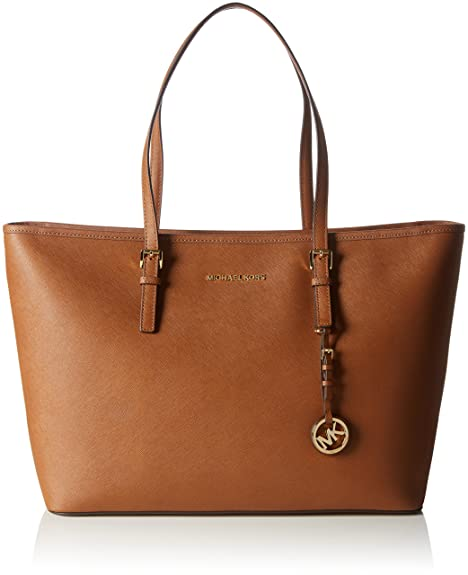 4200173b3 Michael Kors Jet Set Travel, Bolso totes para Mujer, Marrón (Luggage ...