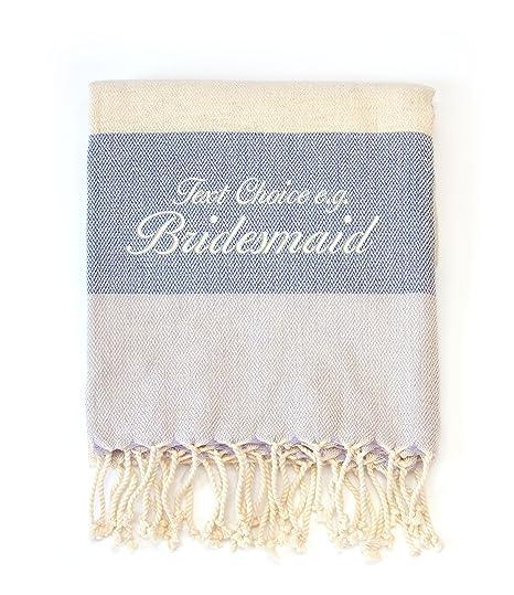 Damas de Honor, bambú, algodón, toallas de playa/SPA/Viaje,