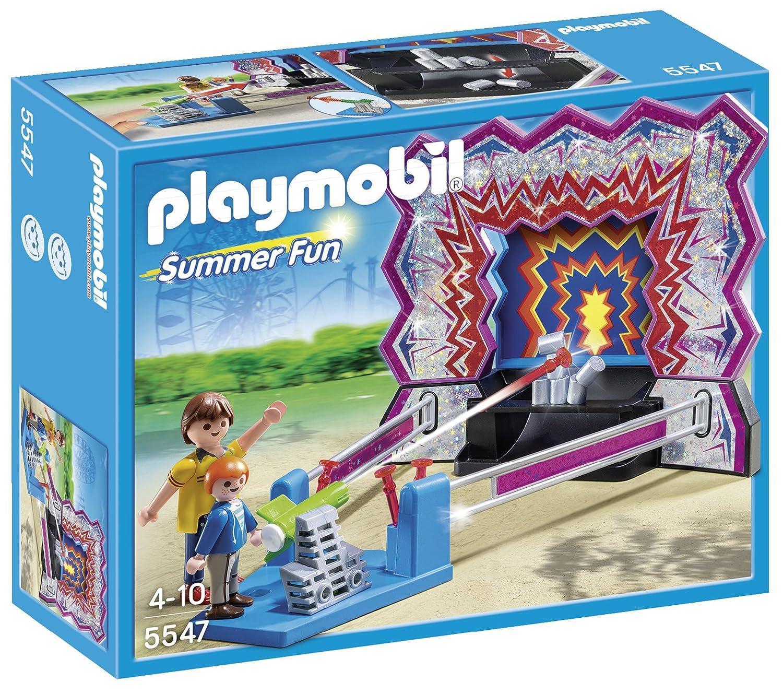 Playmobil Parque de Atracciones - Juego de tiro al blanco, playset (5547): Playmobil: Amazon.es: Juguetes y juegos