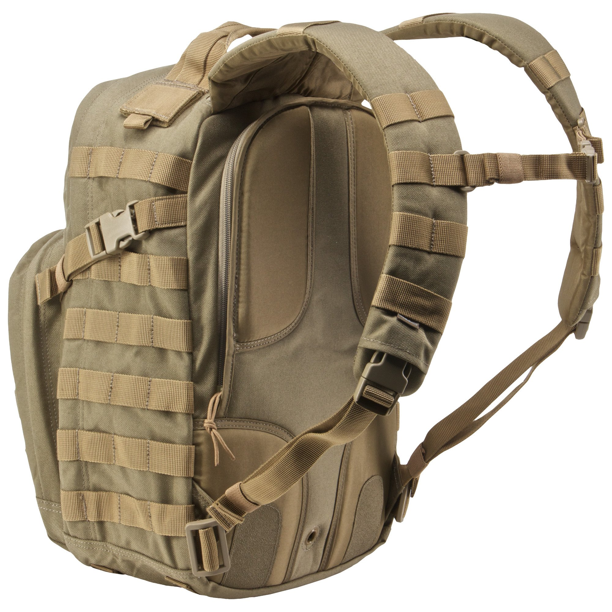 5.11 RUSH12 Tactical Military Assault Molle Backpack, Bug Out Rucksack Bag, Small, Style 56892, Sandstone by 5.11 (Image #4)