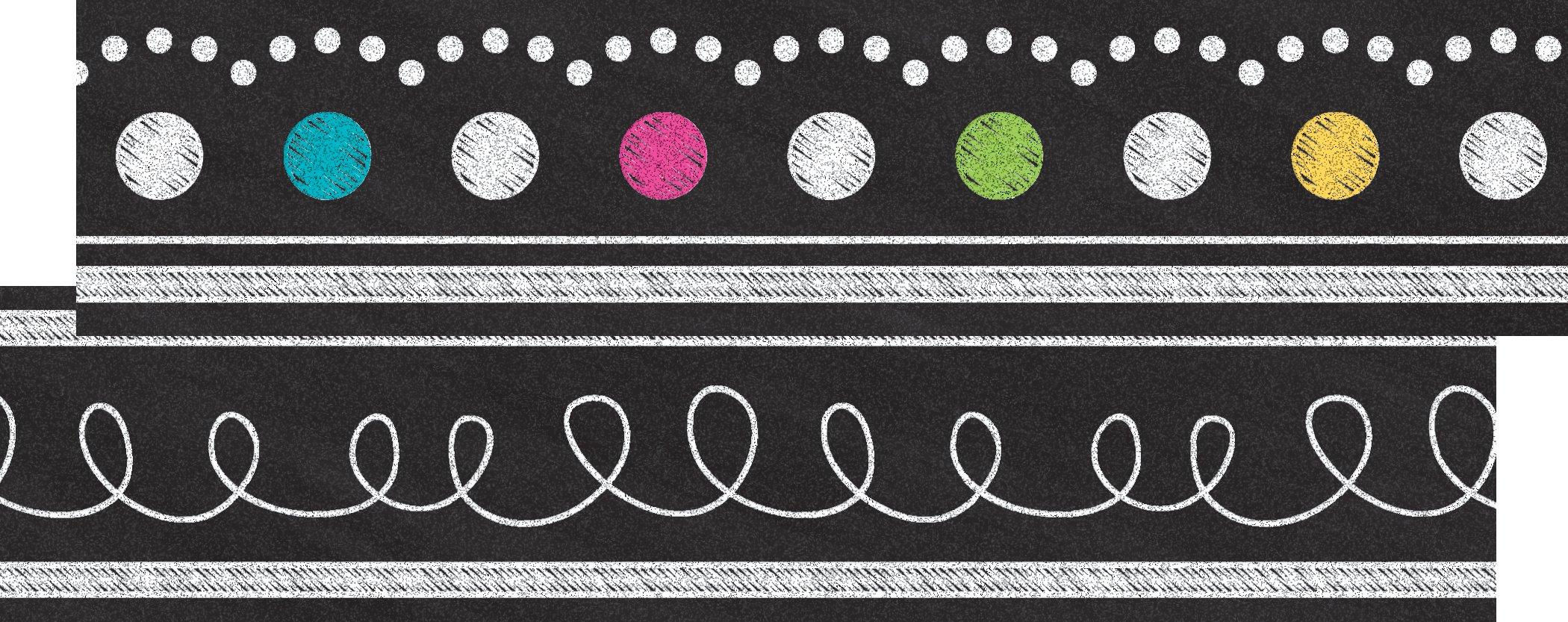 Chalkboard Brights Ribbon Runner