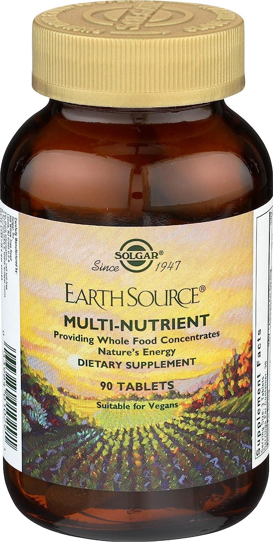 Solgar Earth Source Multinutriente Comprimidos - Envase de 60