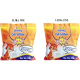 10 Kg JiMMy Cat Litter - JOLLY - Ultra Fine - 5 KG Pack of 2 Total 10 Kg