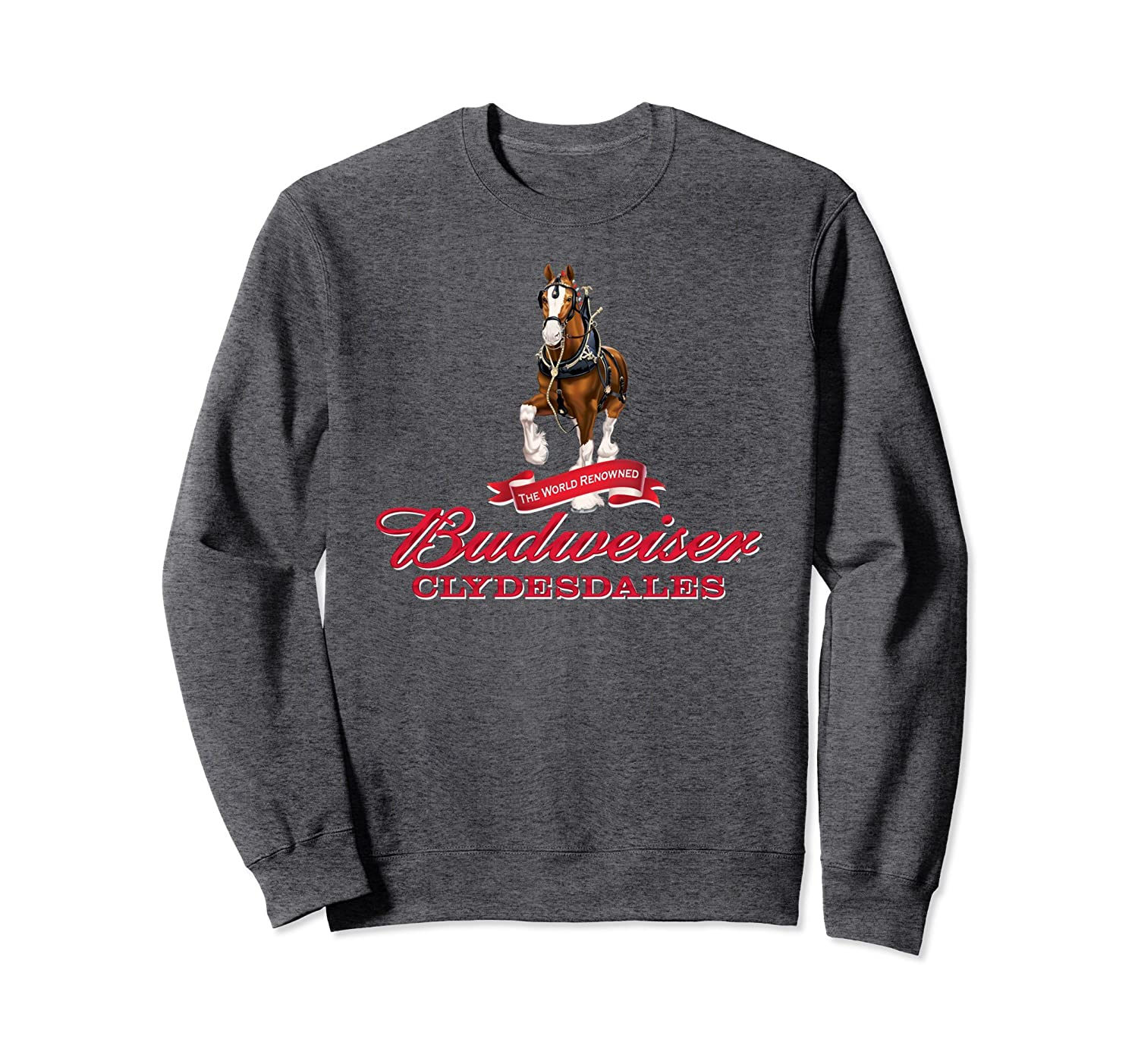 Budweiser 'The World Renowned Clydesdales' Sweatshirt-Teehay