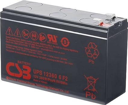Csb battery batteria al piombo v ah ups ups