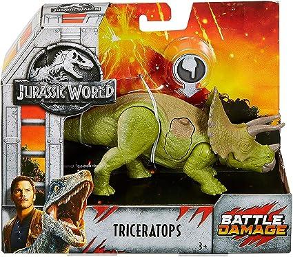 Jurassic World Fallen Kingdom Roarivores Triceratops Action Figure