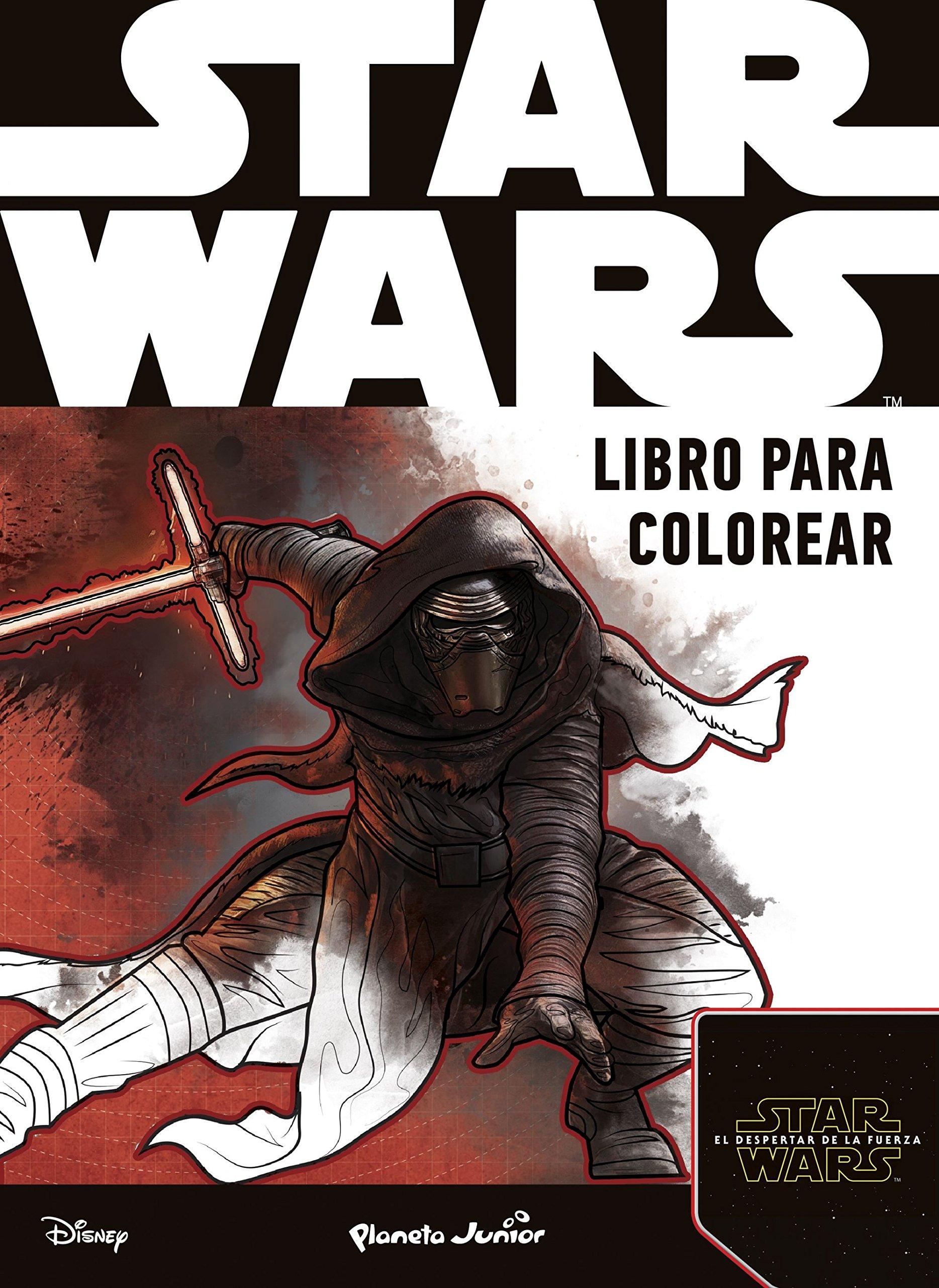 Star Wars Libro Para Colorear El Despertar De La Fuerza