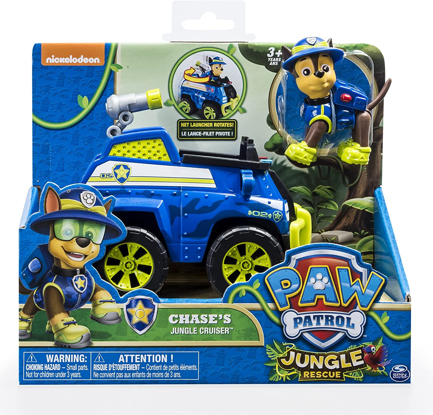 Paw Patrol Chase/'s Jungle CRUISER