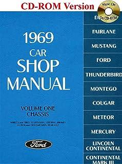 1969 car shop manual 5 volume set falcon fairlane mustang rh amazon com 1969 ford car shop manual pdf 1969 ford car shop manual pdf