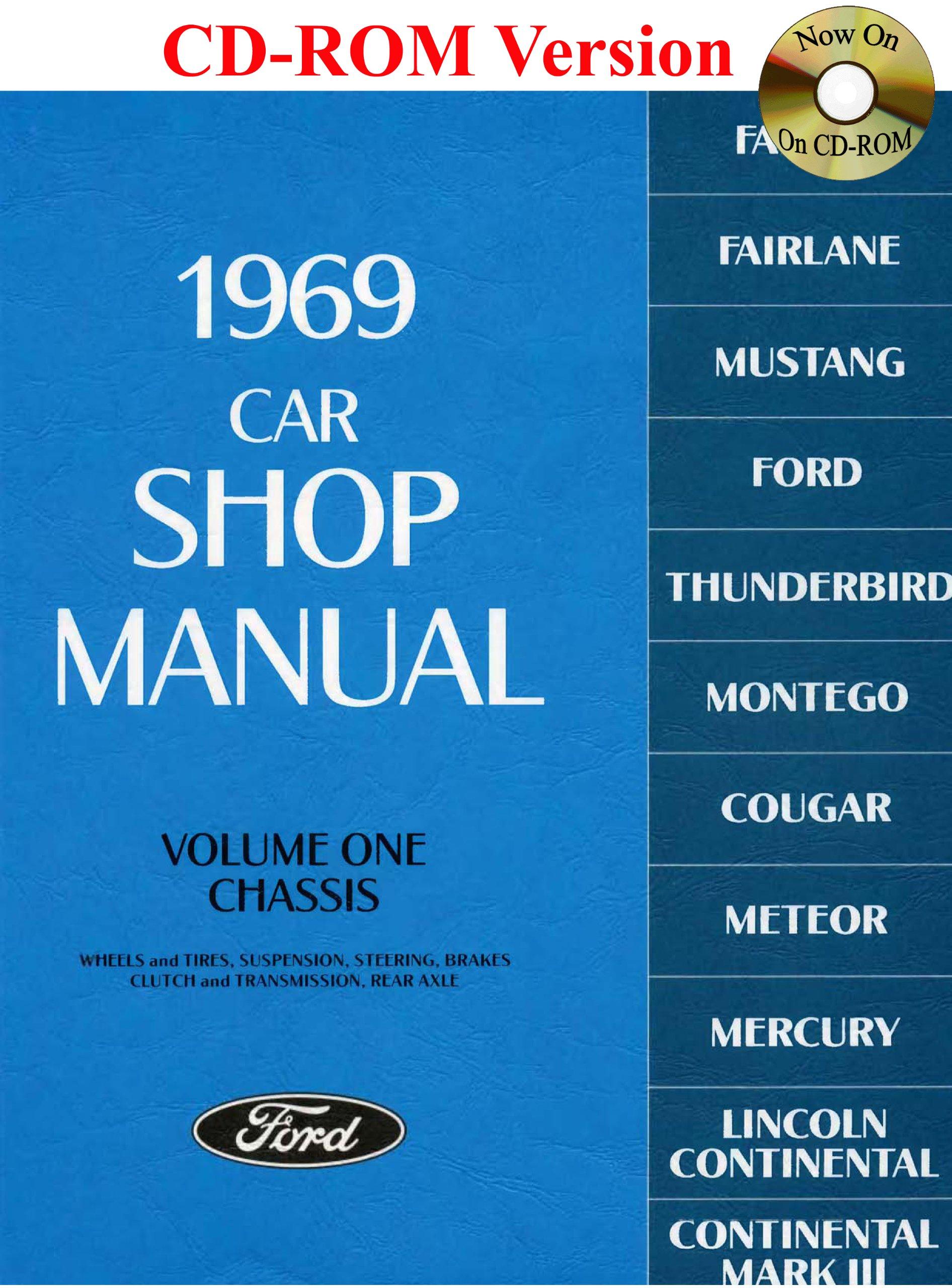 1969 Ford Car Shop Manual (Vol I-V): Ford Motor Company, David E. LeBlanc:  9780967321165: Amazon.com: Books