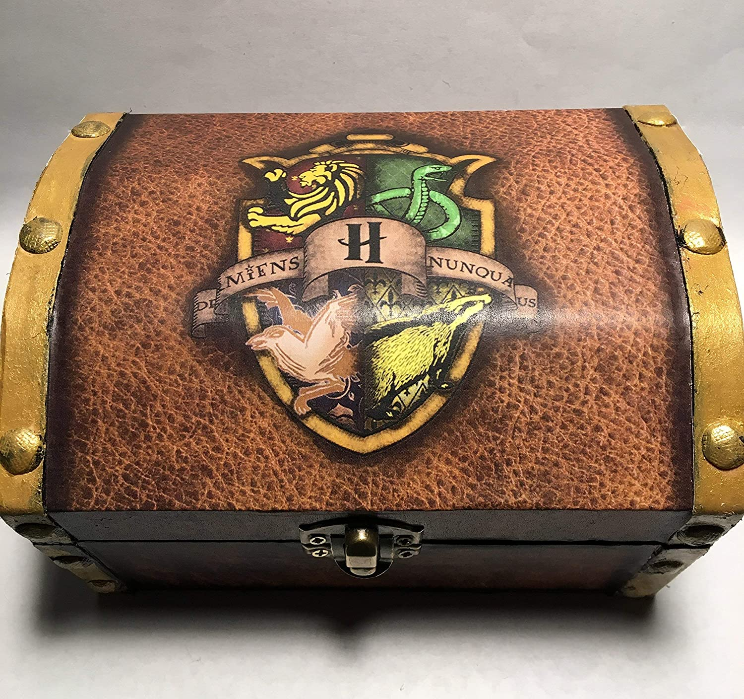 Harry Potter Hogwarts Inspired Jewelry Box Large Chest