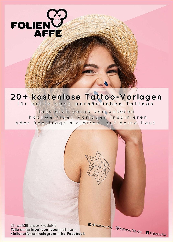 4 Blatt Premium A4 Tattoo Transferfolie Zum Auftragen Auf