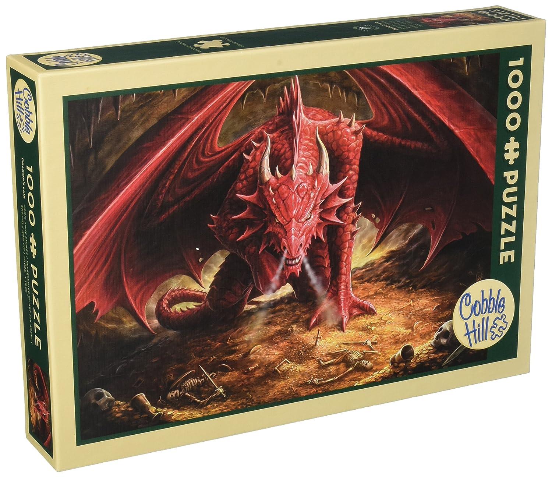 100% garantía genuina de contador Cobble Hill Dragon's Lair Jigsaw Puzzle, Puzzle, Puzzle, 1000-Piece by Cobble Hill  varios tamaños