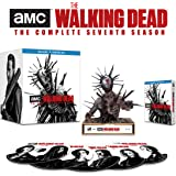 The Walking Dead Season 7 Limited Edition Spike Walker Statue with Soft Touch Digipak [Blu-ray]