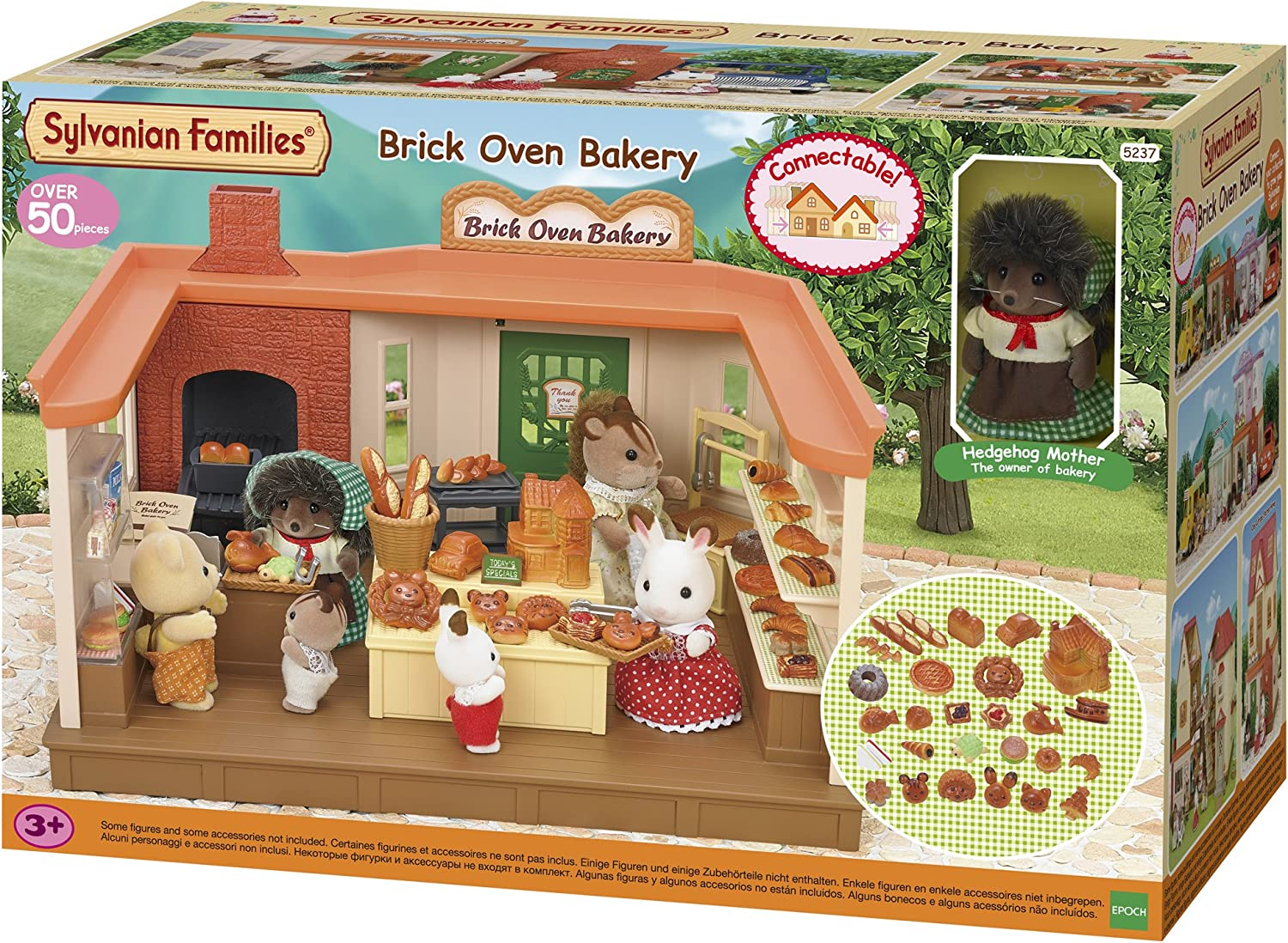 Sylvanian Families Brick Oven Bakery Set, Multicolor