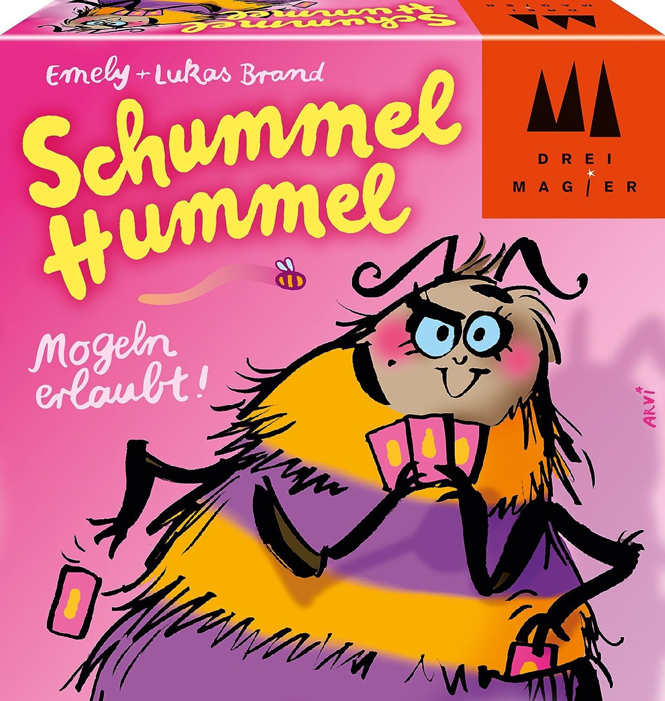 Amazon Com Drei Magier 40881 Schummel Hummel Game Toys Games