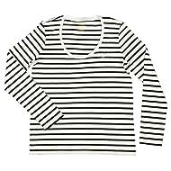 Ralph Lauren Polo Womens Scoop Neck Long Sleeve Pony Logo Shirt