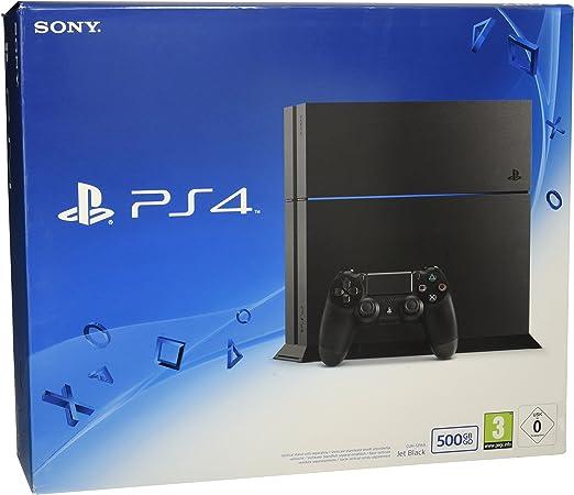 Sony PlayStation 4 Consola 500 GB Edición Negro Azabache ...