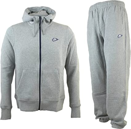 Nike de forro polar con capucha y cremallera sudadera con capucha ...