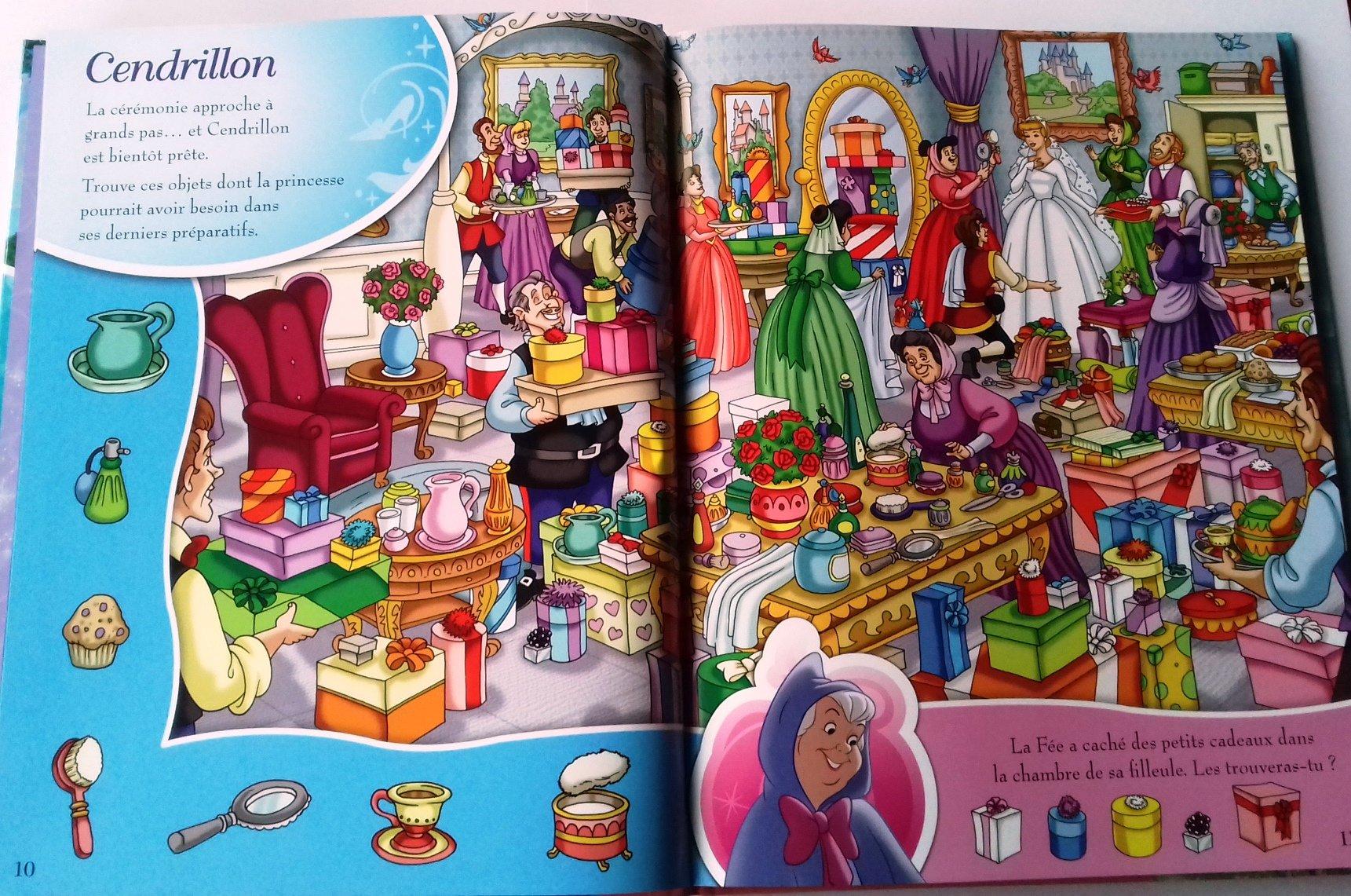 Amazon Fr Mon Recueil Cherche Et Trouve Disney Princesses