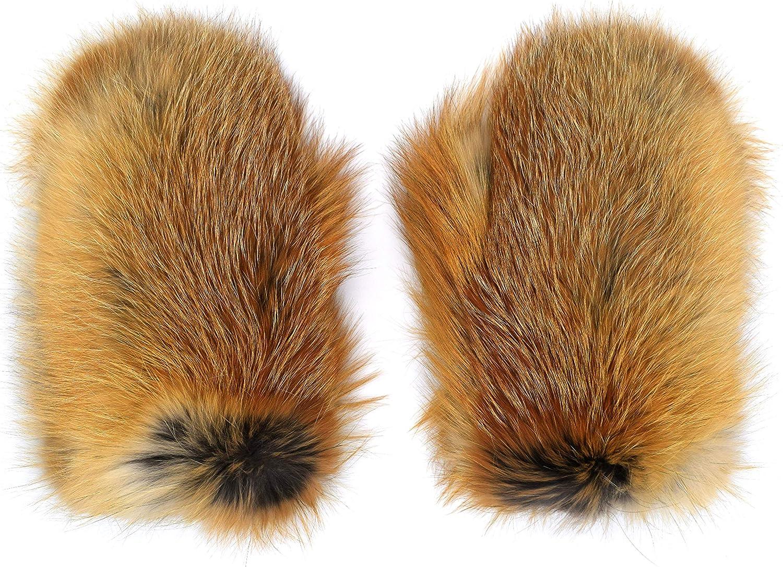 Winter Women's Fur Mittens...