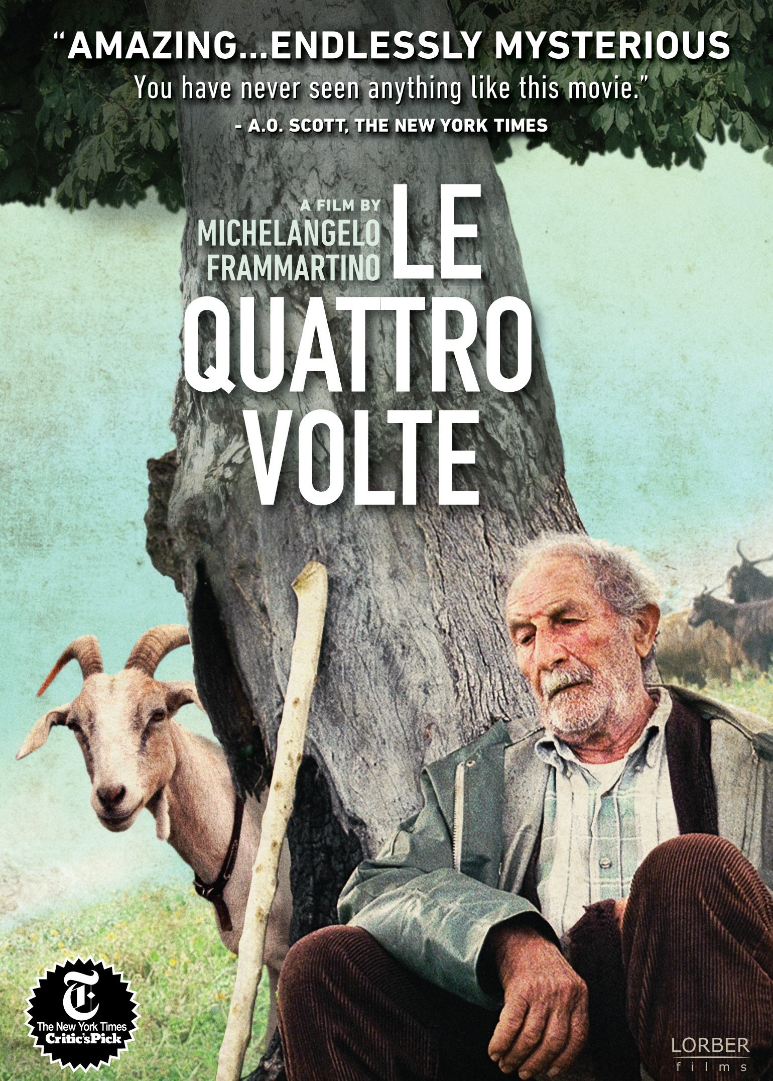 DVD : Giuseppe Fuda - Quattro Volte (Subtitled)