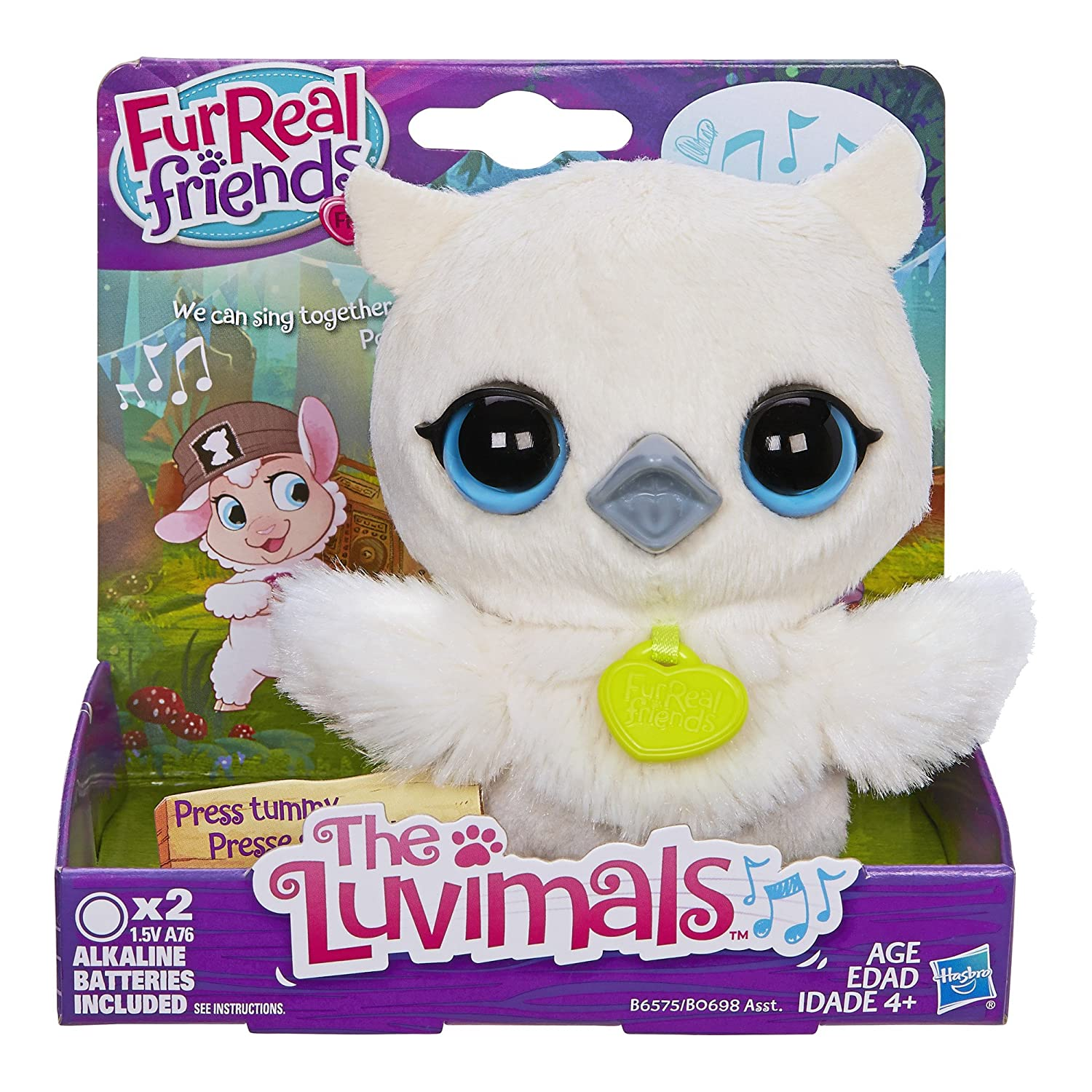 Furreal friends baby snow leopard flurry review robotic dog toys - Amazon Com Furreal Friends Luvimals Sweet Singin Owl Plush Toys Games