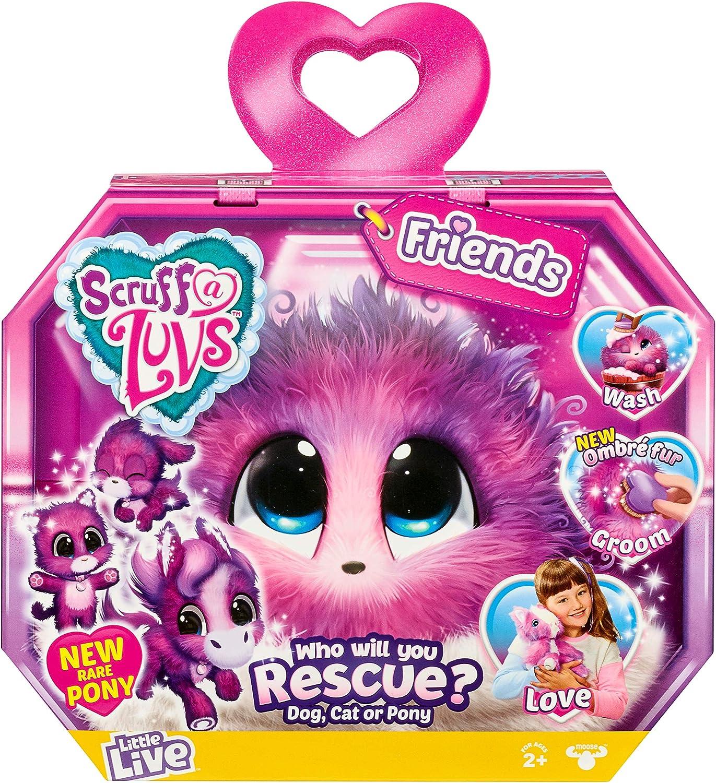 Little Live Scruff-a-Luvs - Friends - Plush Mystery Rescue Pet
